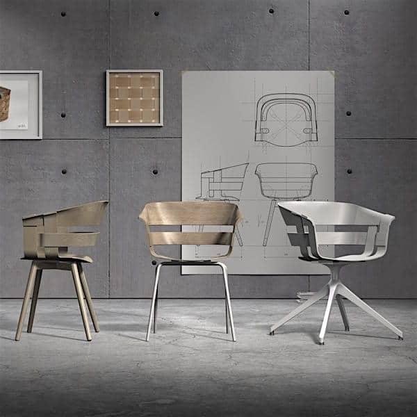 La chaise WICK CHAIR, le design suédois de haut niveau