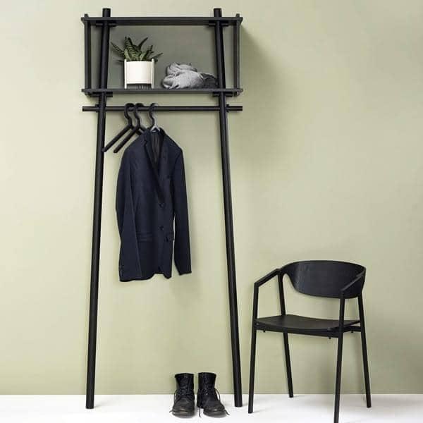 Appendiabiti ILLUSION, design pratico ed elegante, danese. WOUD.