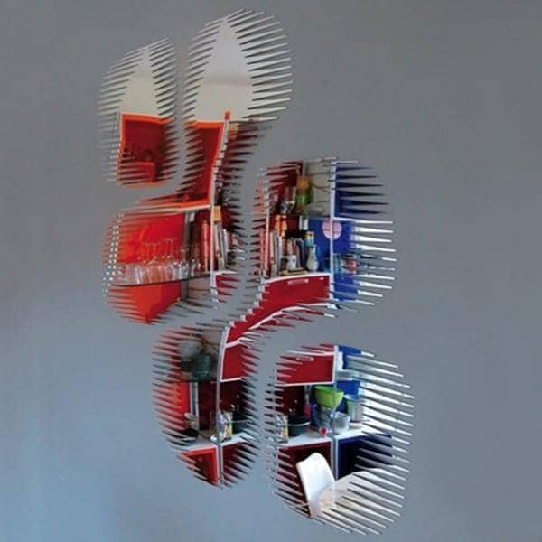 Miroir d coratif bulles snap mirror un miroir aux for Miroirs decoratifs
