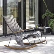 EYELET sidebord, i epoksylakkert stål, av HOUE