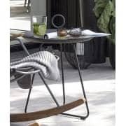 Tavolini EYELET, in acciaio verniciato a HOUE epossidiche, di HOUE