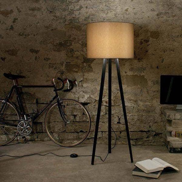 LUCA STAND 、フロアランプ、 MAIGRAU cm - H 140 cm、 MAIGRAU 、あなたのリビングルーム、オフィス、または寝室を美しく
