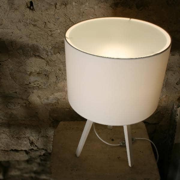 LUCA STAND LITTLE, bordlampe, Ø 36 cm - H 58 cm, av MAIGRAU, beautify din stue, kontor eller soverom