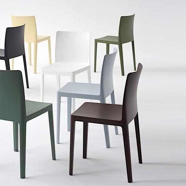ÉLÉMENTAIRE椅子(小学):不太气势,不太谨慎,只是完美平衡。