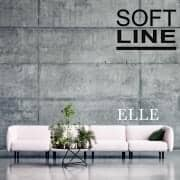 ELLE, a sofa full of roundness and femininity