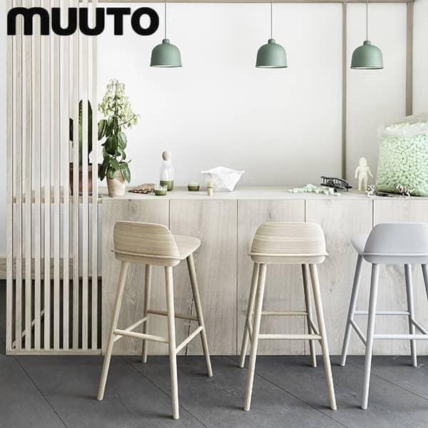 NERD Barhocker, die perfekte Kombination aus Komfort und skandinavischem Design. Muuto