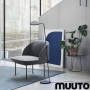 A poltrona OSLO, formas arredondadas e finas e máximo conforto. Muuto