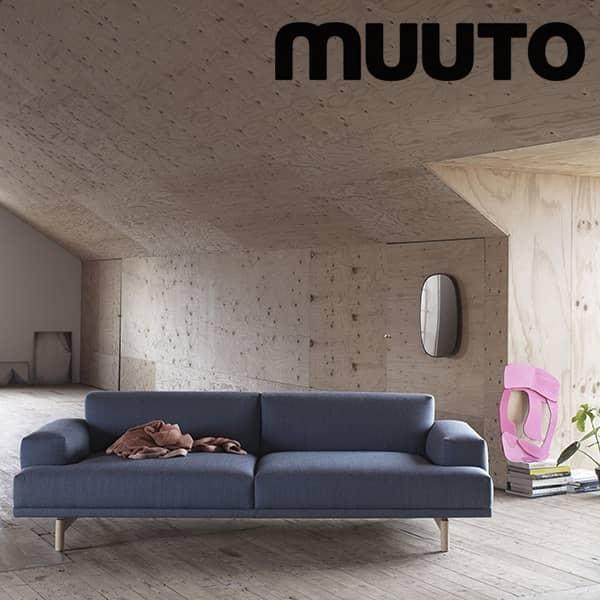 Sofaen COMPOSE, 3 seter, en ekstra komfortabel sofa. Muuto