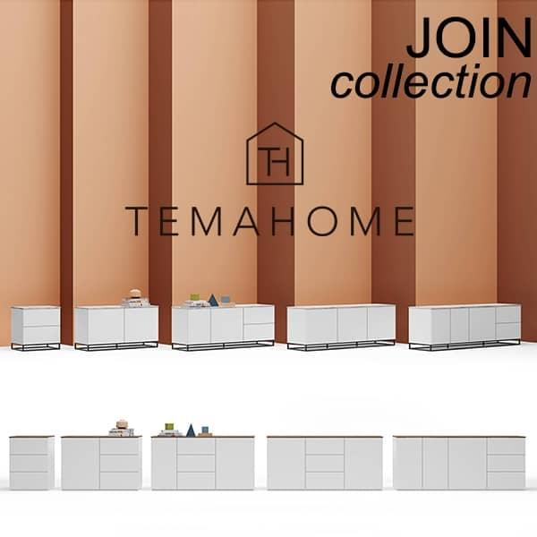 Design und elegante Sideboards, JOIN Kollektion, unterzeichnet TEMAHOME.