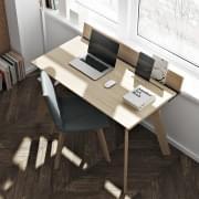 LOFT木质办公桌,简约实用。 TEMAHOME