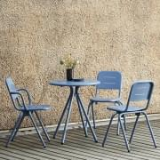 Silla exterior RAY CAF É, de FASTING & ROLFF, WOUD