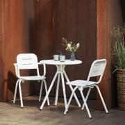 Fauteuil moderne outdoor RAY CAFÉ, par FASTING & ROLFF, WOUD