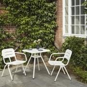 RAY modern and outdoor dining chair, by WOUD