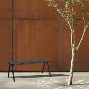 RAY户外长凳,设计和抗性,由WOUD