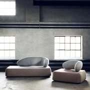 CHAT sofa, design and trendy, by SOFTLINE