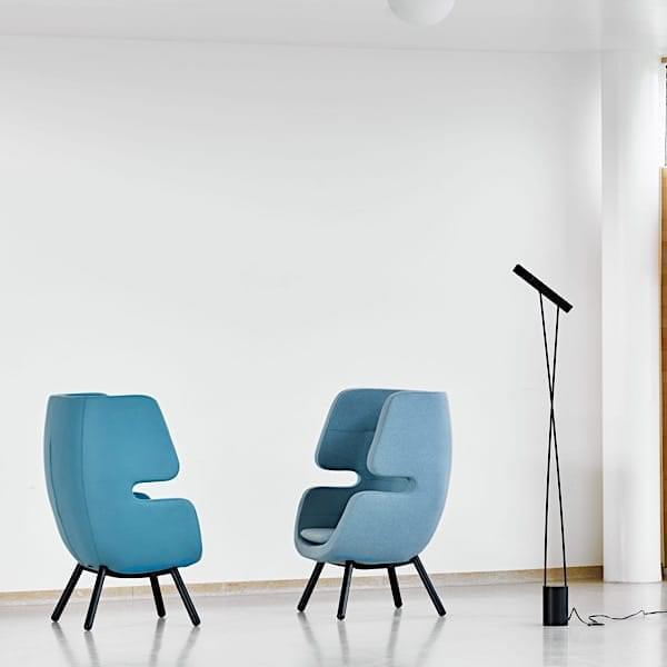 MOAI, uma poltrona lounge que funciona como um refúgio agradável para seus momentos de relaxamento