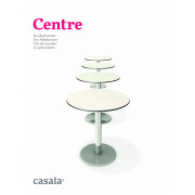 CENTRE、正方形、円形または長方形のデザインテーブルの範囲