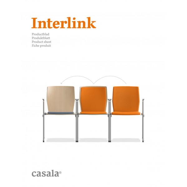 INTERLINK、機能的で積み重ね可能な椅子の範囲