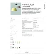Ambit Pendant Lamp EU PFS