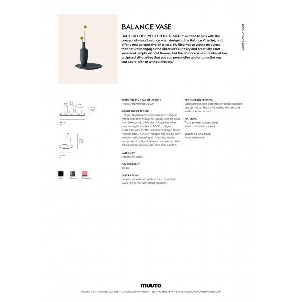 Balance vase