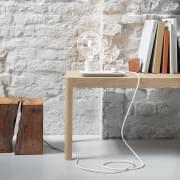 WORKSHOP τραπέζι από ξύλο βελανιδιάς, από MUUTO