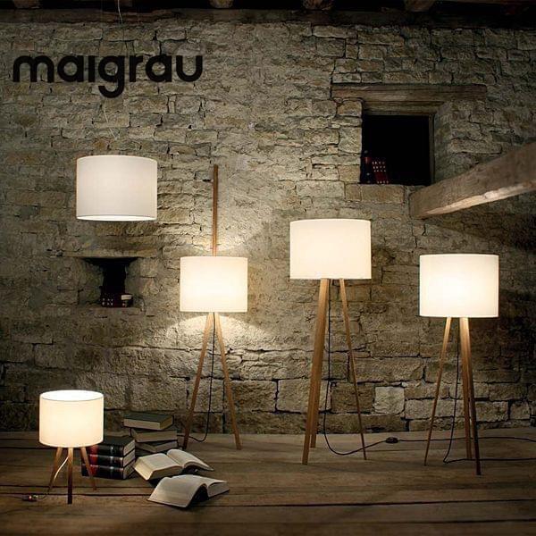 Les superbes lampes LUCA par MAIGRAU, embellissent votre séjour ...