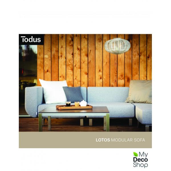 LOTOS modular sofa, TODUS