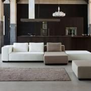 NEVADA : convertible sofa, 2 or 3 sets, Chaise longue and pouf: beautiful combinations