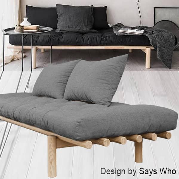 PACE: מיטת שיזוף וכיסא נוח להמרה למיטה נוספת - כולל פוטון ושני כריות