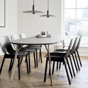Mesa de jantar TREE, 3 dimensões, simbolismo natural, leveza e redondeza.
