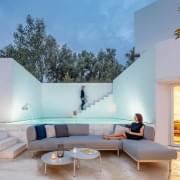 BAZA garden furniture to compose, high-end modular sofa