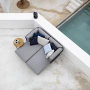 BAZA mobili da giardino per comporre, divano modulare di fascia alta