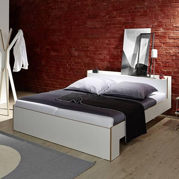 The NOOK 1 or 2-seater bed: the perfect compromise between comfort and utility.