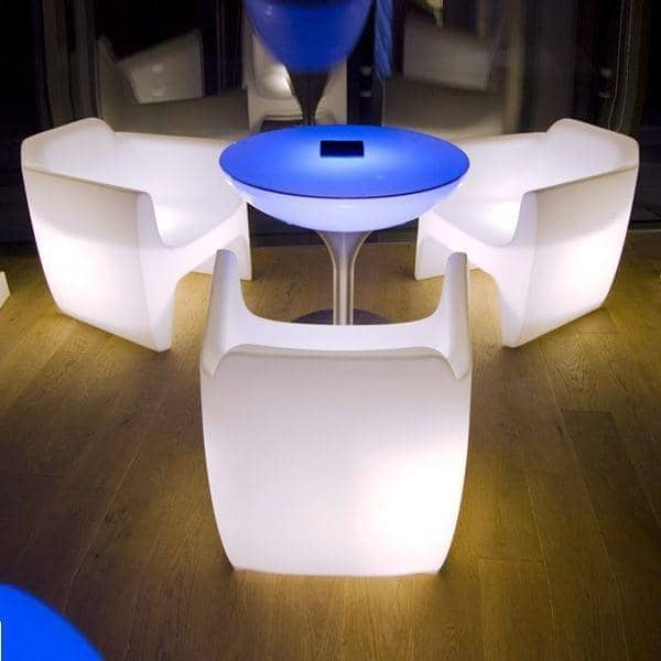 TRANSLATION ARMCHAIR  Translucent Light - beautiful evenings, indoor and outdoor
