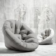 NEST, lounge Stol dagen, Futon om natten: NEST er hyggelig, praktisk og så behagelig