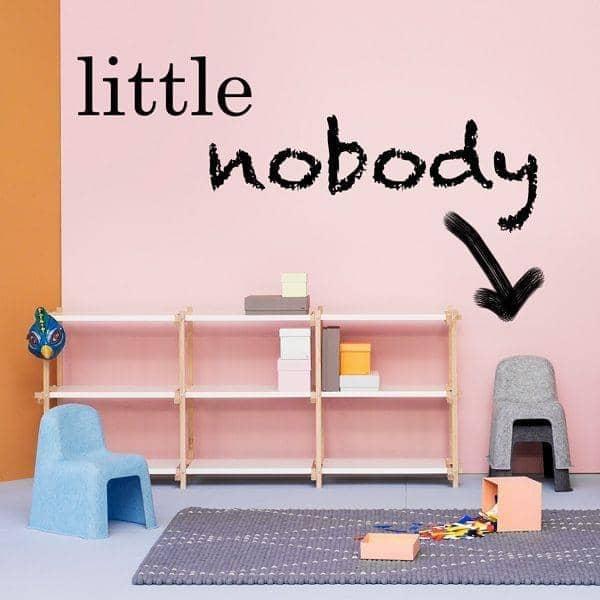 LITTLE NOBODY, irmãozinho de NOBODY CHAIR, HAY - deco e design