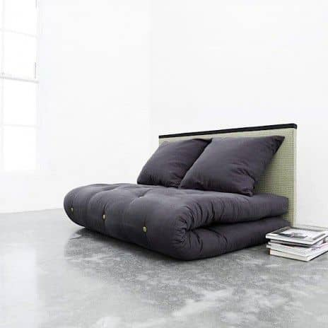 TATAMI SOFA BED: Futon + 2 Back Cushions + Tatami, really a good deal! - deco and design