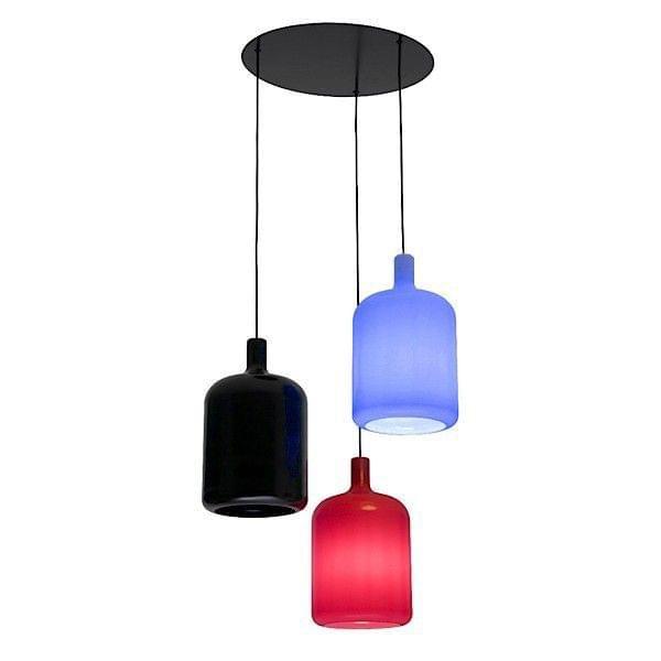 Bulb haengende lampe 3 lamper soft touch ud af polyurethan deco og design bob design.jpg