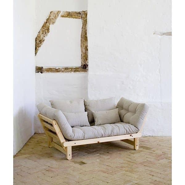 Beat un sof cama de dos plazas que se puede transformar for Sillon cama dos plazas