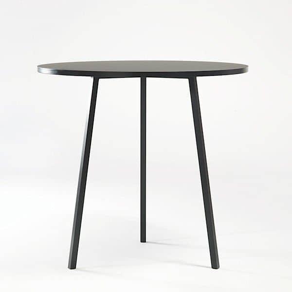 A LOOP stand mesa de jantar redonda é bonito, fácil de viver e de preço acessível, HAY - deco e design