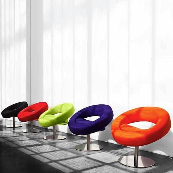 该HELLO主席是圆的,开放的和快乐-装饰与设计, SOFTLINE