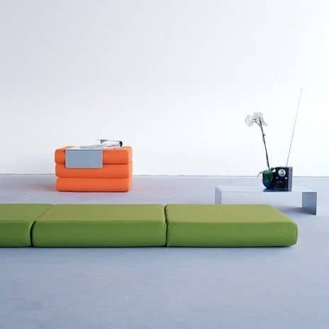 BINGO: ottoman, extra bed and side table: Versatile and smart! deco and design, SOFTLINE