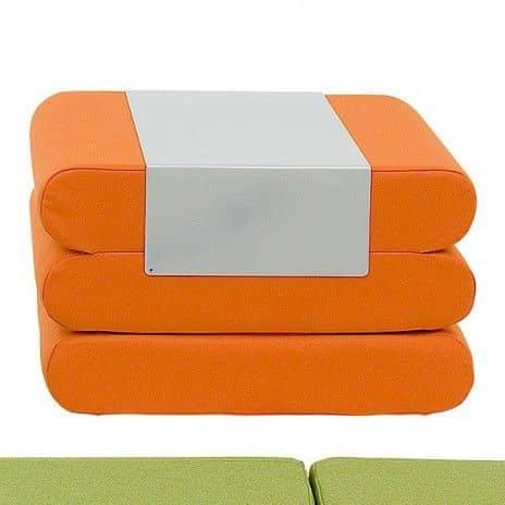 BINGO, un pouf, un lit d'appoint et une table d'appoint : multi-services et malin ! déco et design