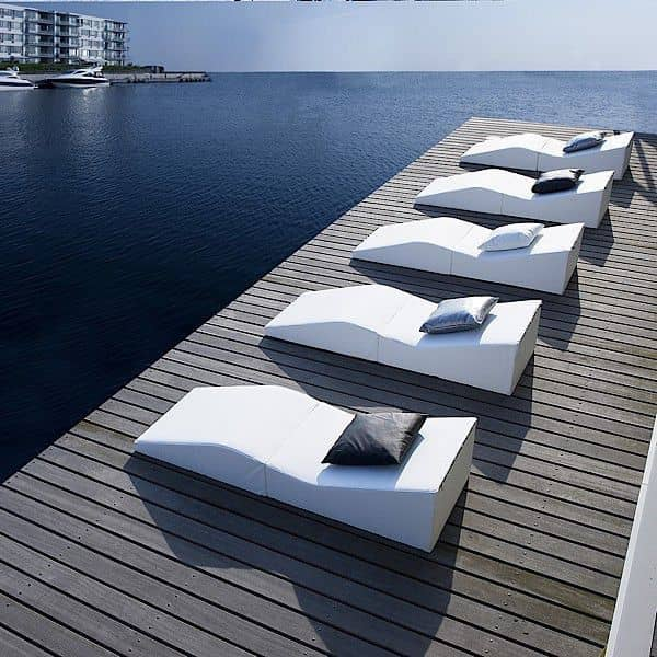 SHAPE, lounge chair, graphic and very comfortable - indoor or outdoor, comfort fits all situations
