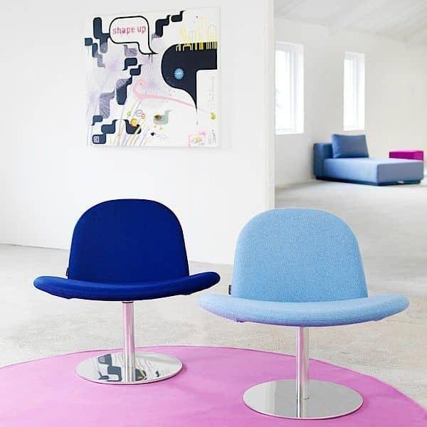 Orlando er en moderne svingstol, og en svært komfortabel stol! - Deco og design, SOFTLINE
