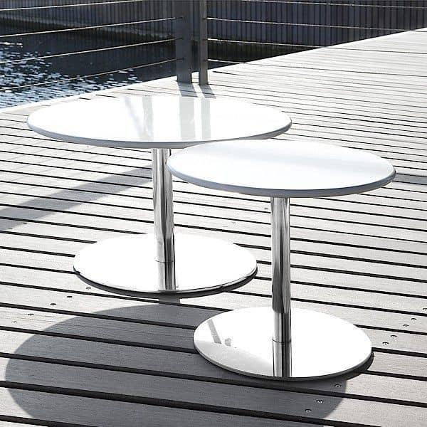 HELLO é uma tabela lado prático ou mesa de café - deco e design, SOFTLINE