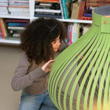 BUZZILIGHT, la lampe à poser ou à suspendre douce et généreuse ! acoustique, éco, déco et design