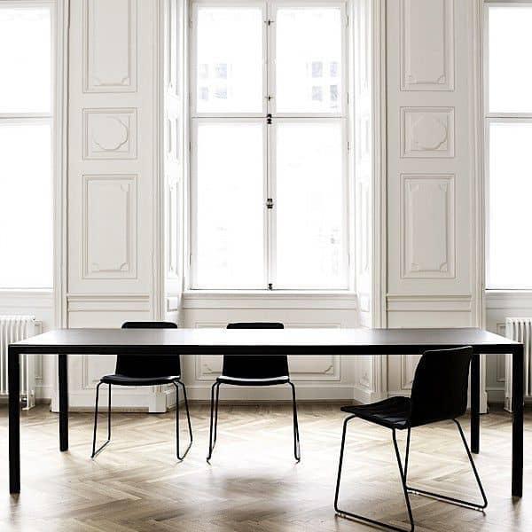 El T12 mesa de comedor o escritorio por HAY. diseño nórdico, tan perfecto!