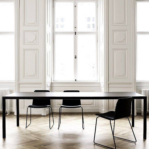 The T12 dining table or desk by HAY. Nordic design, so perfect!