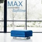 MAX er et funktionelt design puf og ekstra-seng, SOFTLINE - Deco og design